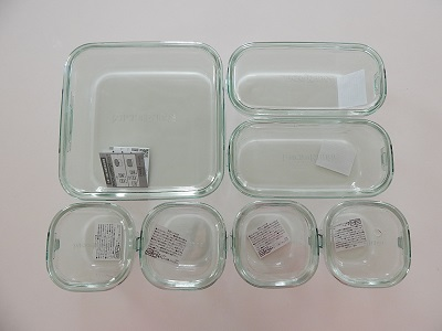 Iwaki Pack & Range Glass Food Containers6