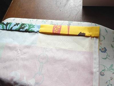 DIY Curtain With Pockets10