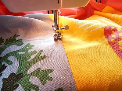 DIY Curtain With Pockets21