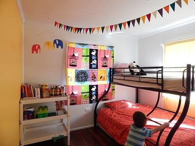 DIY Curtain With Pockets24