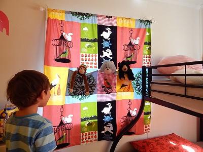 DIY Curtain With Pockets25