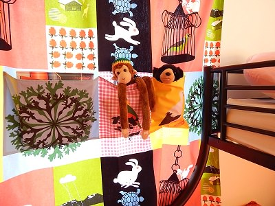 DIY Curtain With Pockets26