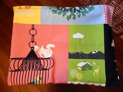 DIY Curtain With Pockets3