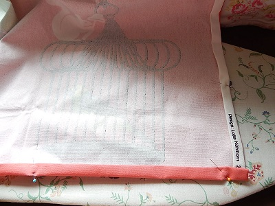 DIY Curtain With Pockets7