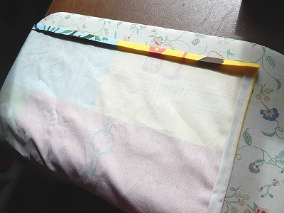 DIY Curtain With Pockets9