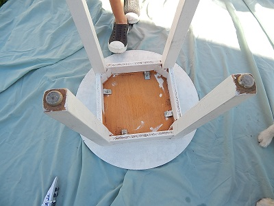 Painting Old Furniture6