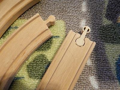 Plarail With IKEA BRIO Wooden Rails2