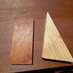 簡単DIY!自然な仕上がり!木材をオイルステイン塗装してみた