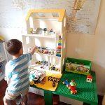 簡単DIY!ドールハウスをトミカの収納棚にリメイクしてみた